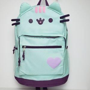 Pusheen Mint Face Backpack